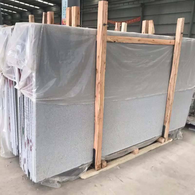 Hubei G603 Bianco Crystal Granite Tiles Slab from China