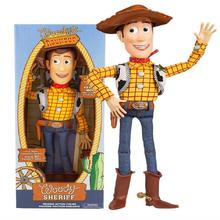 Hot selling 16'' Toy Story 4 Talking Woody Jessy  Action figure Doll