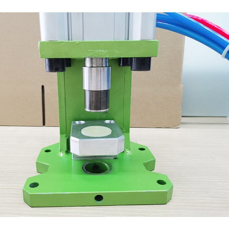 N95 27mm Round Hole Pneumatic Breathing Valve Hole Punching Machine Punch Hole Power Press