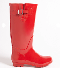 LM6338 Women's Boots Specials Buckle Rubber Rain Boots Sleeve Waterproof Non-slip Boots