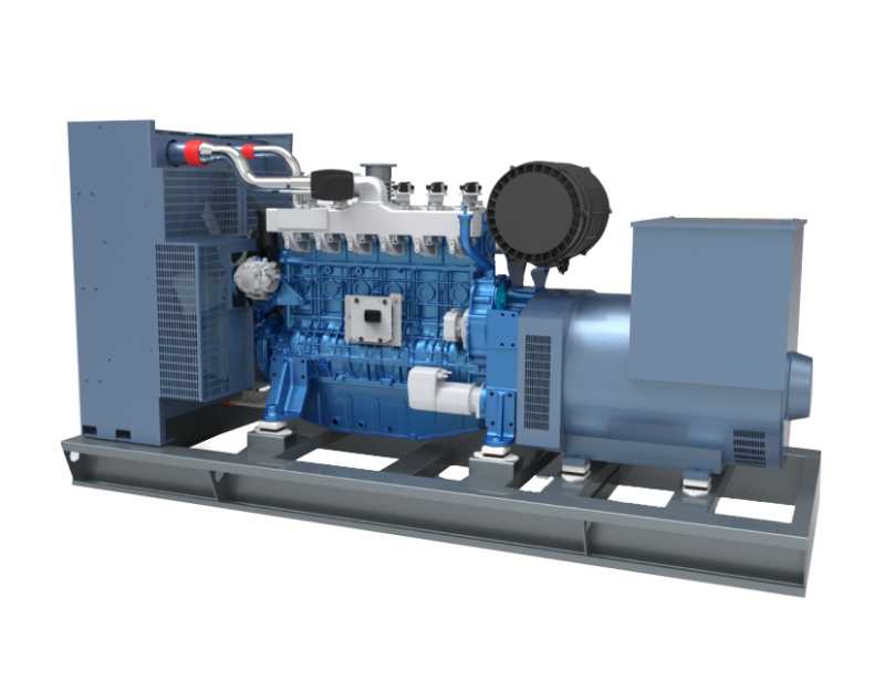 High Efficiency CNG 400kw Natural Gas Generator 500kva Powered by Weichai Engine