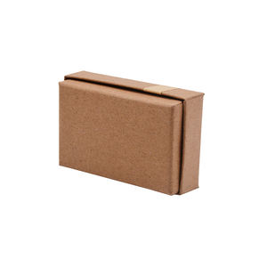 Cheap High Quality Plain Custom Made Logo Kraft Paper Jewelry Earring Ring Packaging Gift Box