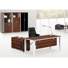 Latest high end furniture laminate office table for boss/president(FOH-BS24-H)