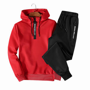 High Quality Custom Logo Tracksuit Men Autumn Sportswear Male Sporting Suits 4XL