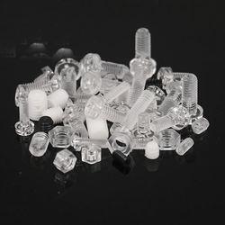 High Quality m3x16 Transparent Plastic Screws Clear Acrylic Phillips Pan head PC screws