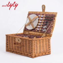 Good Price and Quality Willow Picnic Basket from Chinese Factory
