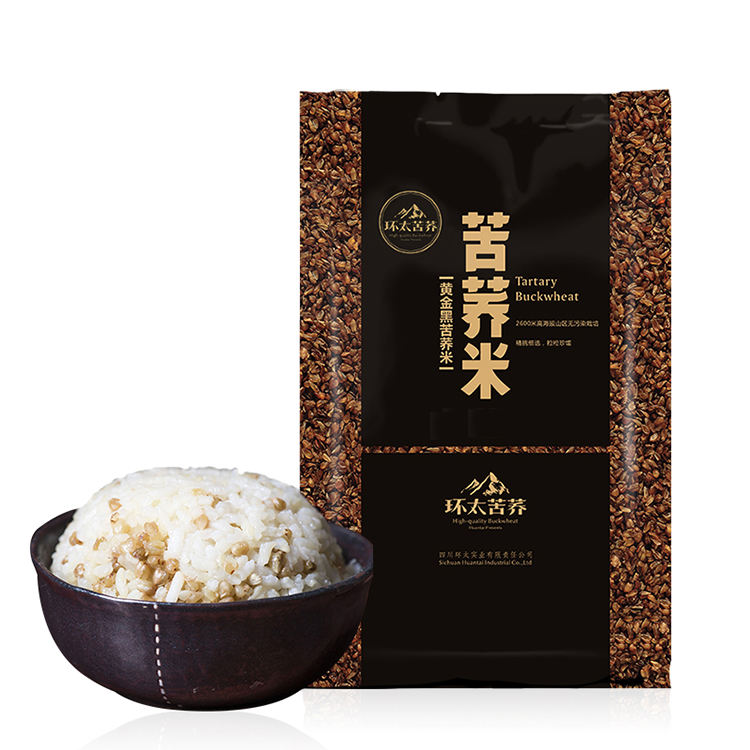 free shipping OEM Organic buckwheat grain rice for diabetes health food good Christmas gift