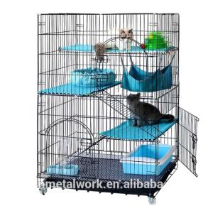Welded Wire Mesh Large Indoor Pets Cage for Cat at Home