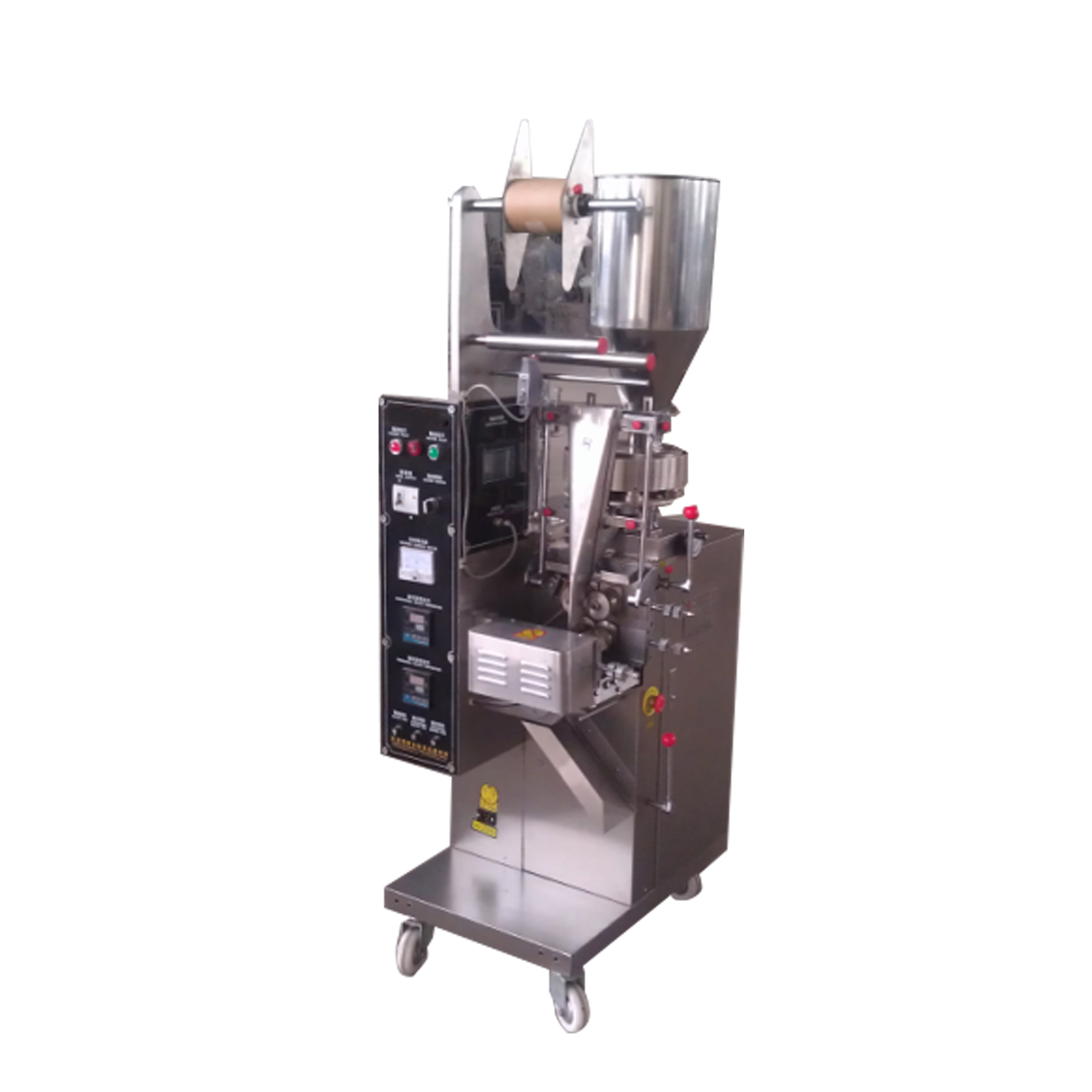 Economical Automatic Body Lotion Sachet / Bag / Pouch Filling Packing Machine
