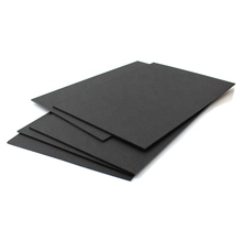 Uncoated Black Cardboard Paper