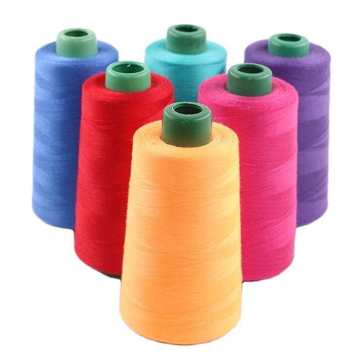 Thread Spun 100% Cotton Sewing Thread 40 2 Good Quality Cotton Polyester Core Spun Sewing Threads