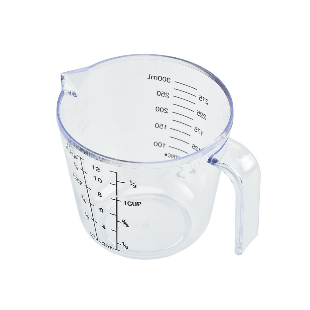 Food Grade 300ml Plastic Measuring Cup For Baking Tools