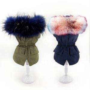 2019 Winter Fashionable Amazon Hot Sales Warmful Jacket Pet Dog Clothes