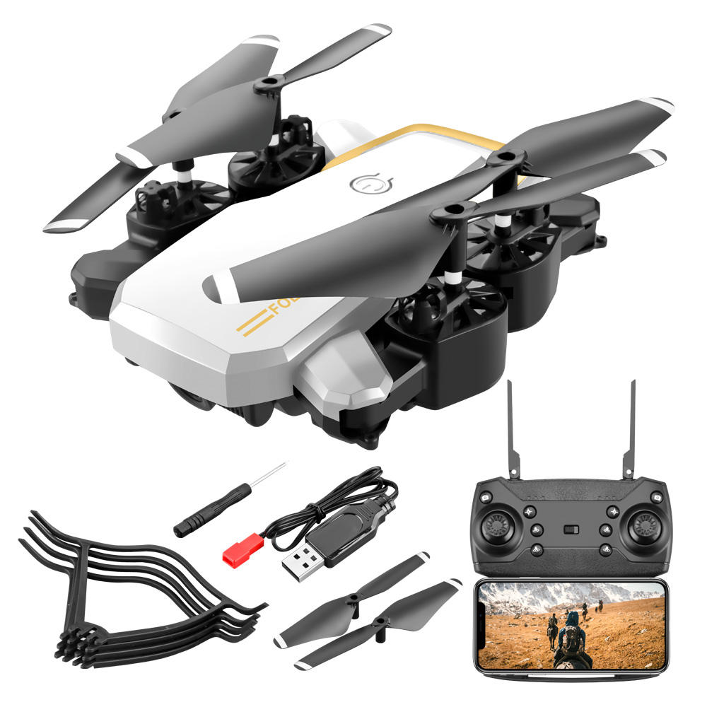 4k dual camera aerial photography uav wifi picture transmission quadcopter long endurance remote control aircraft toy LF609