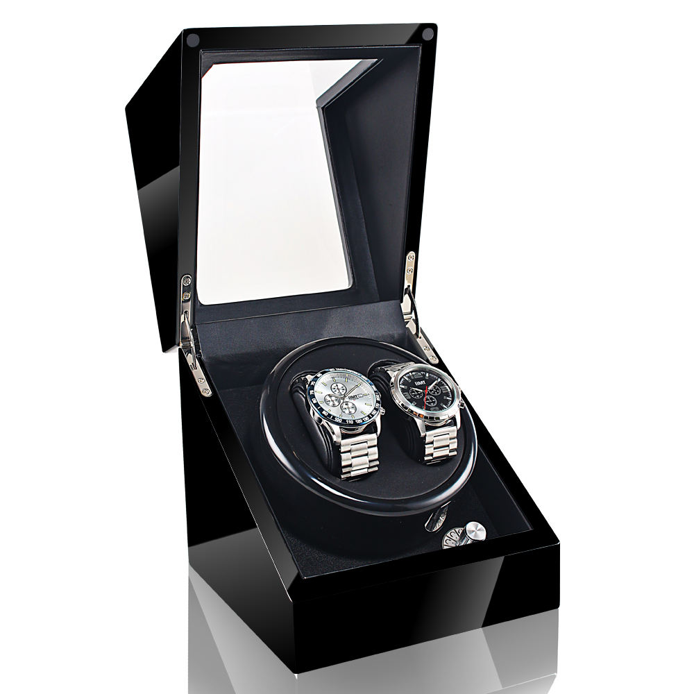 US/EU/AU/UK Spina Automatic Watch Winder Per Orologio Meccanico Box Holder Display Boite Montre Caja de Reloj