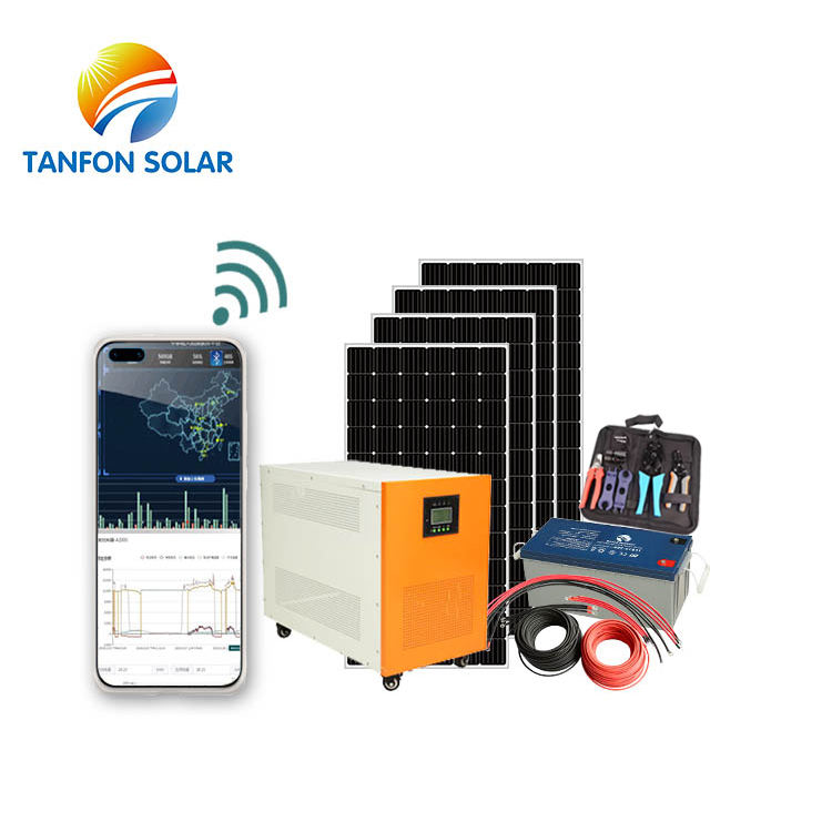 5kw Off Grid Solar Power System Solution