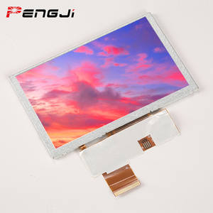 5 ZOLL TFT LCD(PJT500P55H51-350P50R) resistive touch panel lcd modul