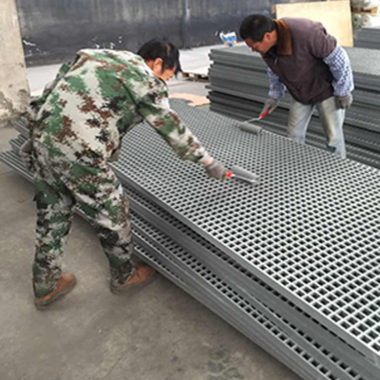 Heavy Duty Decorative Composite Frp Mini Mesh Compound Steel Grating Suppliers