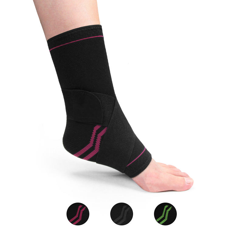 Hot Sale Ankle Support Sleeve Compression Adjustable Elastic Sports Ankle Brace
