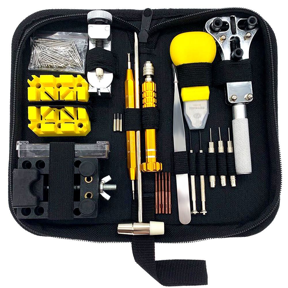 2019 New style 148pcs Watchmakers Tools Back Case Opener Link Remover Spring Bar Tool Watch Repair Tool Kit