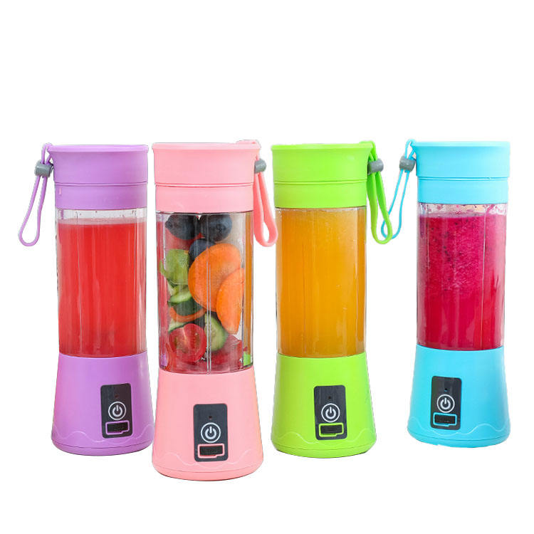 Wholesale cheap safety usb rechargeable mini fruit juicer portable smoothie blender