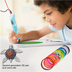 Custom creative doodle drawing 3d printing pen for kids gifts