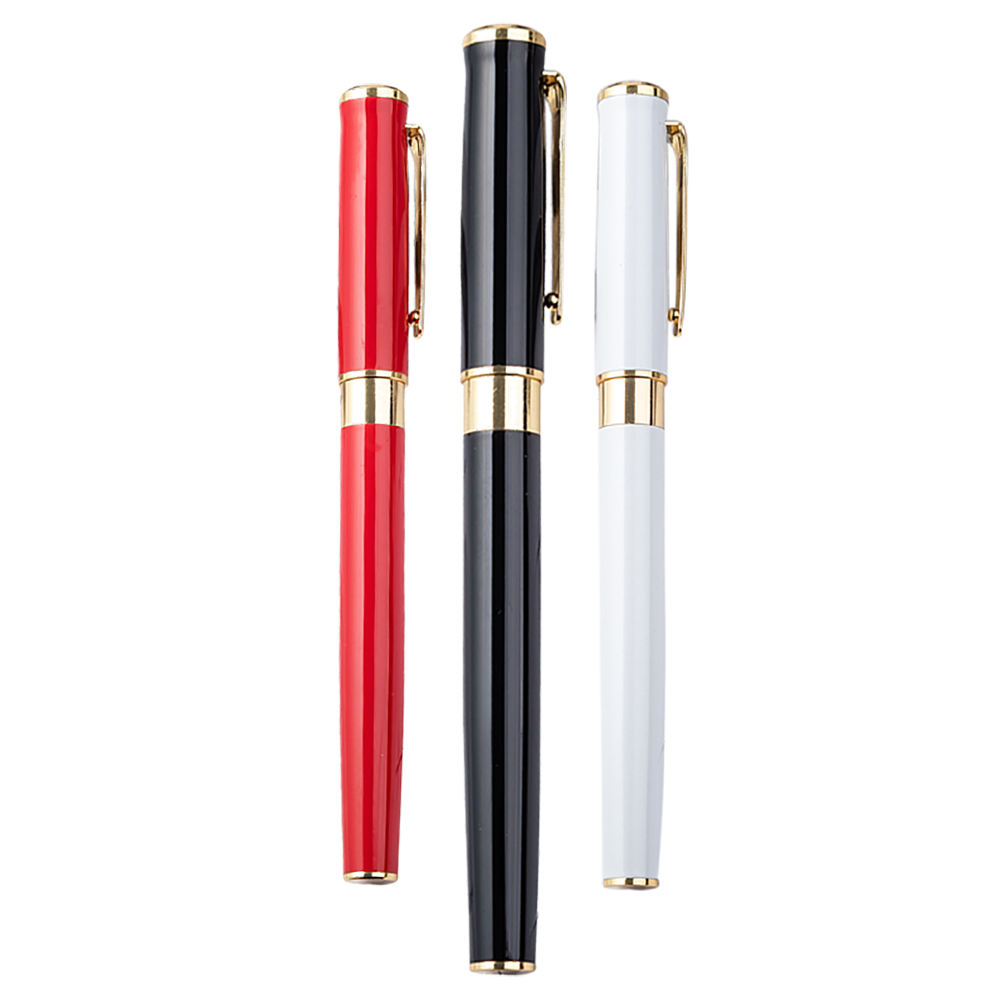 Hot-selling Luxury Promotional Office Materials Customized Metal Roller Pen With High-quality and Custom LOGO