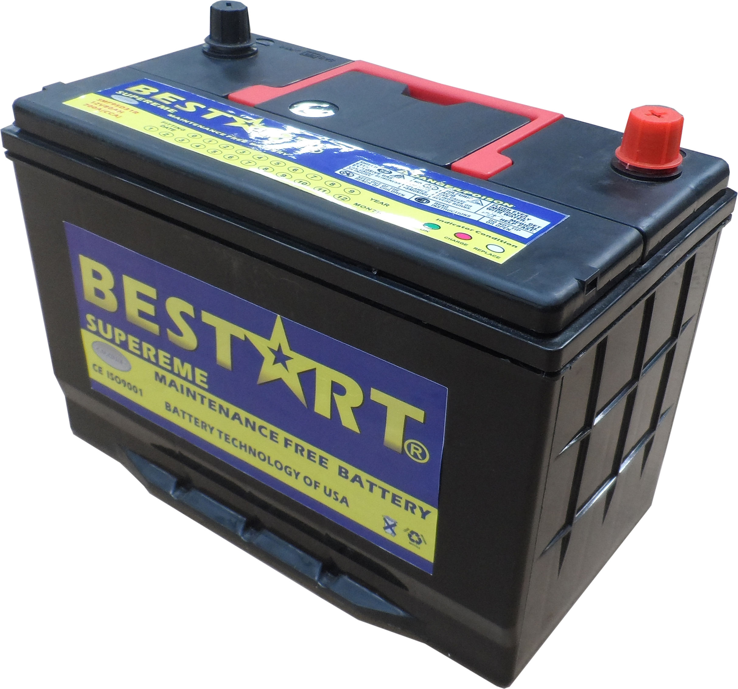 wholesale car battery 80ah 12V sealed dry cell battery 95D321R-MF