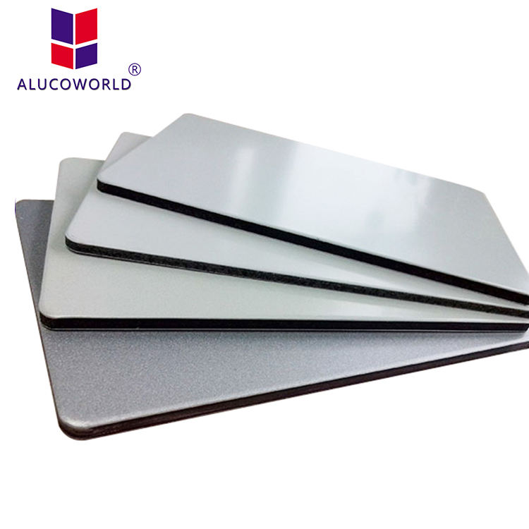 Alucoworld PE Aluminium Composite Panel Acp Cladding Prices ACM Board