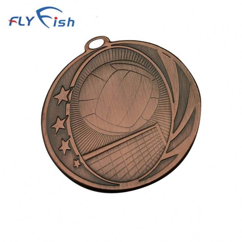 Offres Spéciales Chine En Métal Personnalisé <span class=keywords><strong>Médaille</strong></span> De Fer Pour Le Volleyball