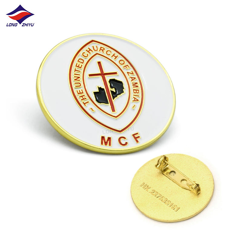 Plating Metal Button Metal Round Button Badges China Factory Make Your Own Metal Badge Soft Enamel Zinc Alloy Company Badge Button Badge Making Machine Round Shape
