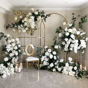 Gold Wedding Supplies Metal Arch Decorations Backdrop