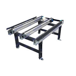 The best quality storage preparation automatic pallet roller chain conveyor