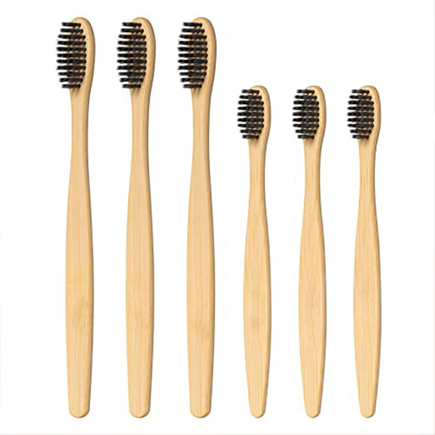 Winning OEM Natural Spazzolino Bamboo Toothbrush Bambou Soft Cleaner Eco-friendly Travel Home Teeth Brush Box Cepillo De Bambu