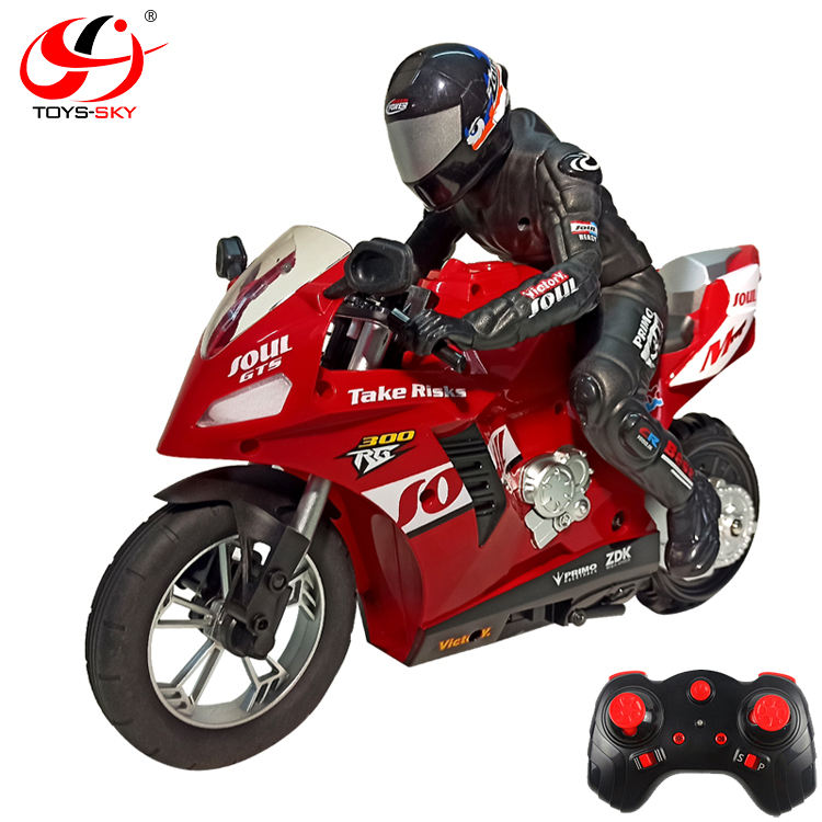 High quality 1/6 2.4G electric radio control Self-Balancing stunt rc racing motorcycle toy with 6 Axis Of Gyroscope