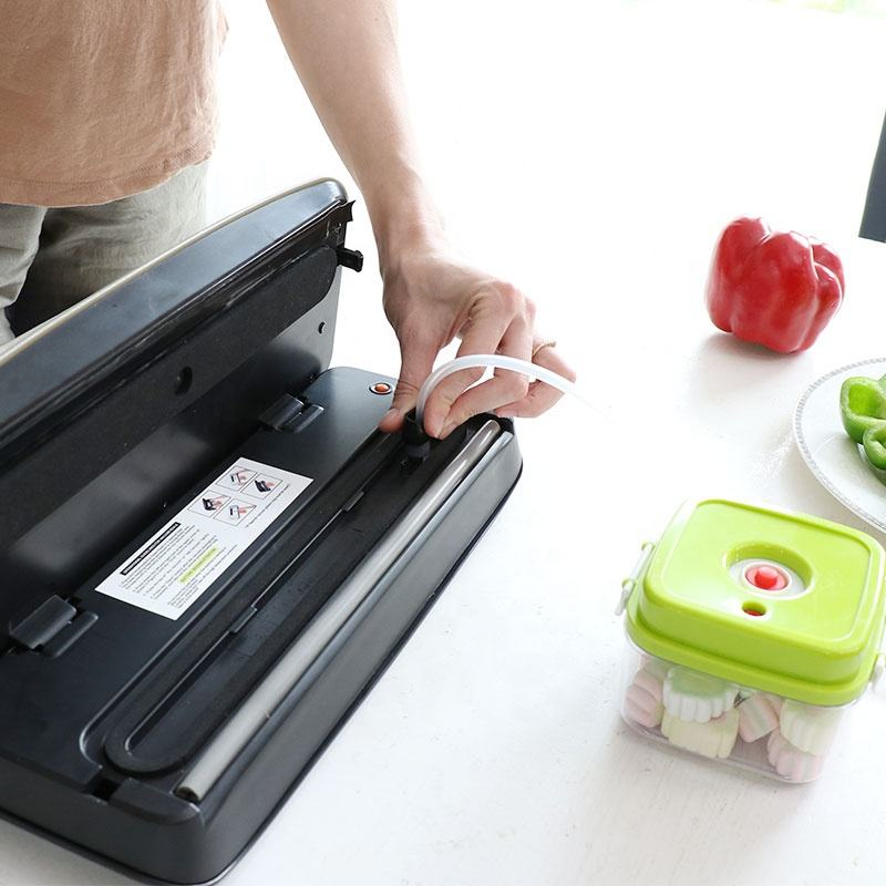 OOTD Home Automatic Jar Vacuum Sealer Vacuum Packing Machine Sealer Supermarket Packing Machine for Bottles