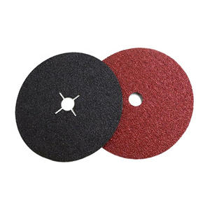7 inch aluminium oxide fiber disc cut off wheel for ship boat and metal