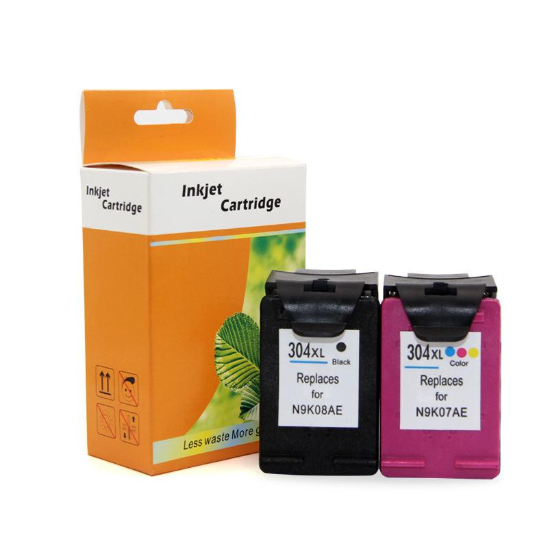 OCBESTJET para HP 304 304XL envío gratuito cartucho de tinta de recarga de tinta para HP Deskjet <span class=keywords><strong>serie</strong></span> 2620, 2630, 3720, 3730, 3