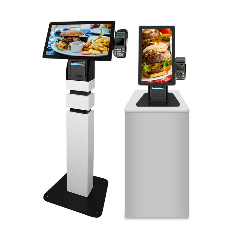 Manufacturers Custom restaurant tablet self service ordering electricity online touch screen payment touchsceen kiosk Price