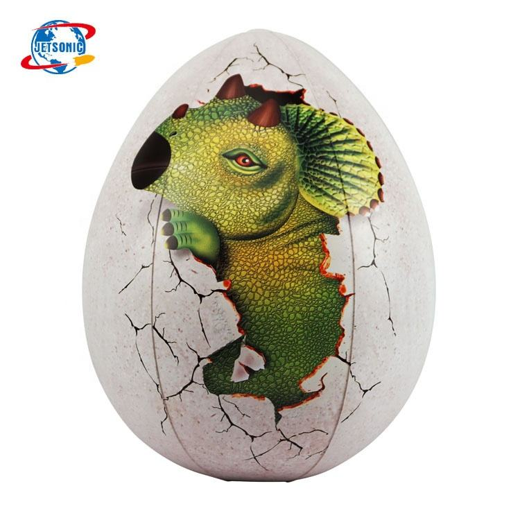 38cmH Oyuncak Easter Decoration PVC Dinosaur Egg Toy Inflatable Toy