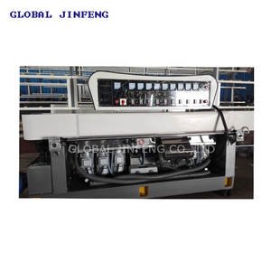 JFE-9243 Global Jinfeng straight line automatic glass edging machine/glass polishing/grinding machine