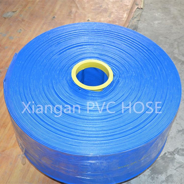 "High Pressure Flexible 2""*100' PVC Layflat Irrigation Water Hose"