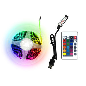 China wholesaler hot selling items USA market 5m RGB colorful 5v usb led strip power strip with usb
