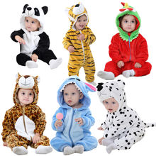 Animal shape velour soft autumn homewear long sleeve kids romper newborn infant boy girl baby clothes wholesale price