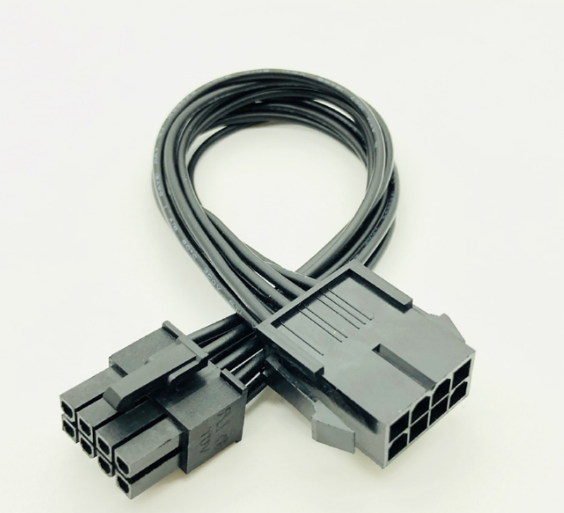8-pin 12V ATX EPS Power Extension Cable Male to Female 8 inch 20 cm