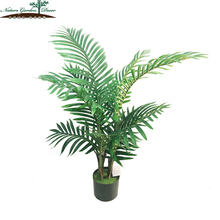 Customized Artificial Model Plants Office Palm Trees Decoration