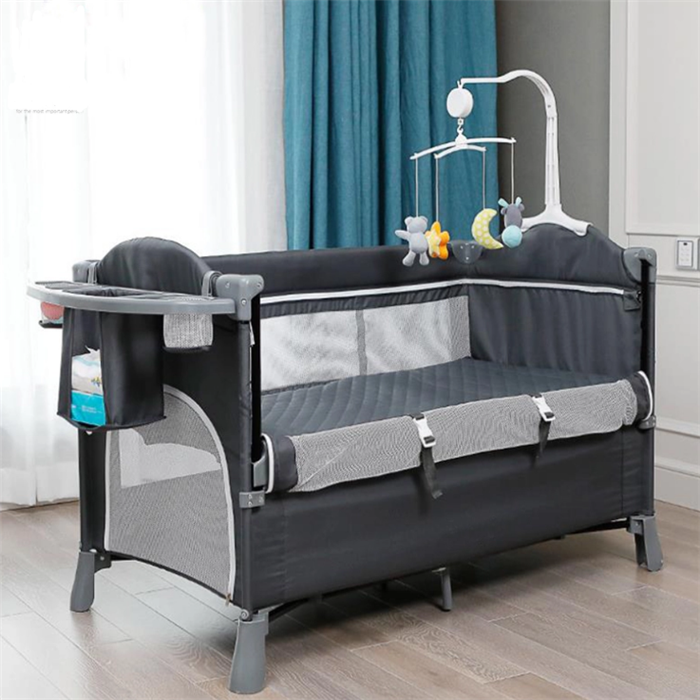 2020 Nieuwe Ontwerp Product Opvouwbare Baby Slapen Wieg Crib <span class=keywords><strong>Bed</strong></span>