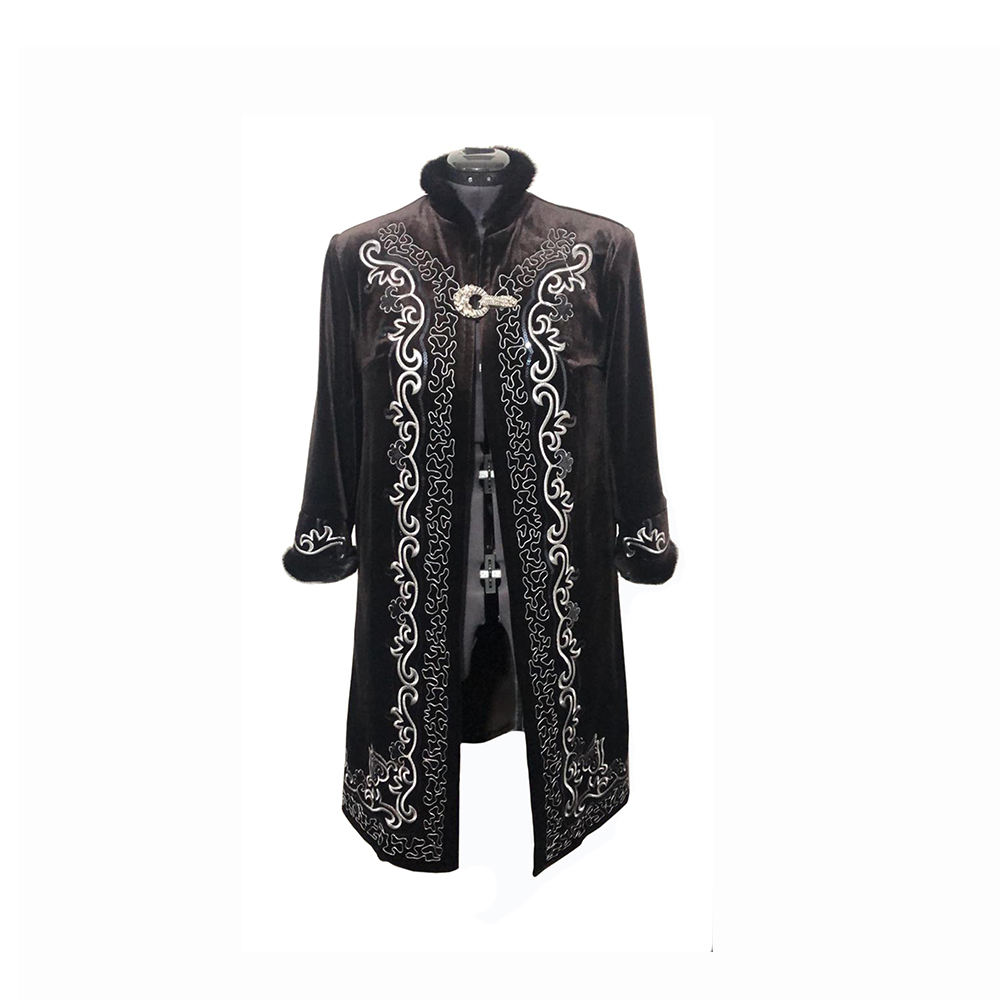 Wholesale Men Clothing Coat Kazakh National Beshmet