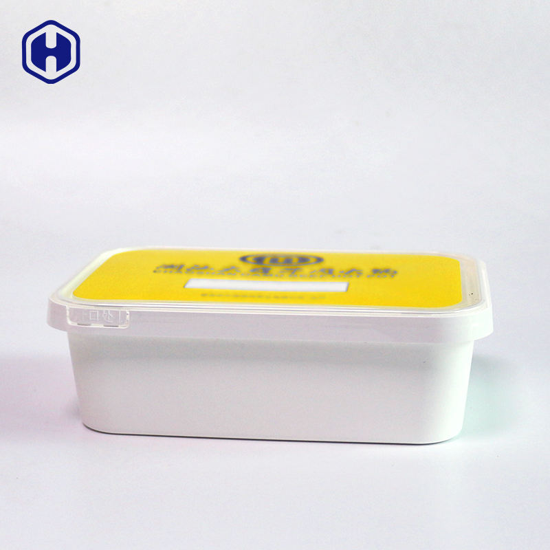 Custom high temperature setrilization hot filling plastic new materials PLA disposable IML biodegradable food container
