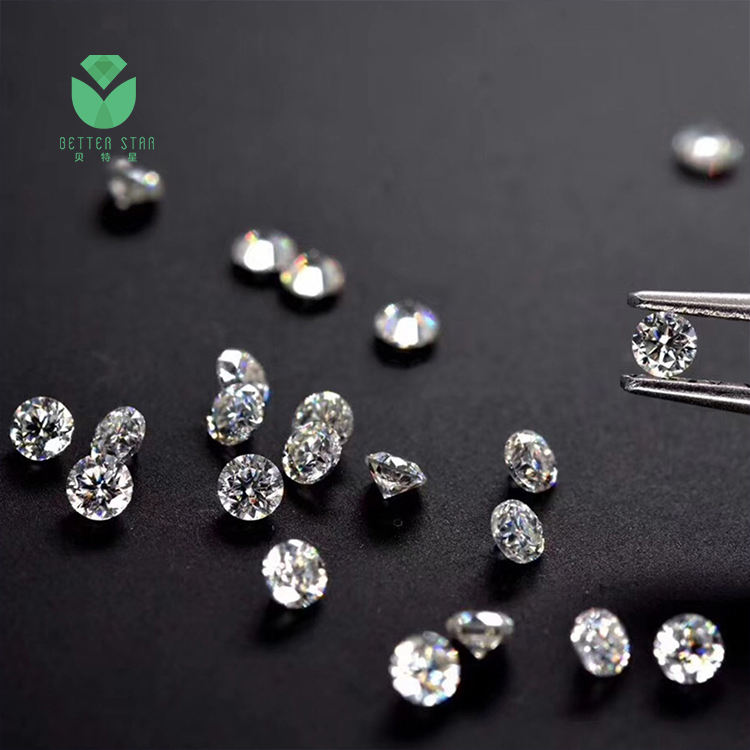 0.01 carat lab growing cvd synthetic diamond dealers in china